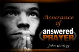 Assurance of Prayer