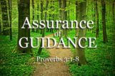 Assurance of Guidance
