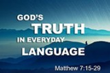 God's Truth in Everyday Language