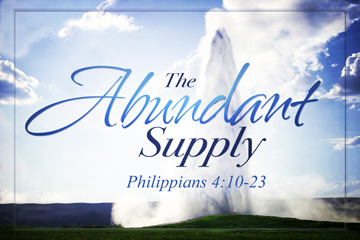 The Abundant Supply